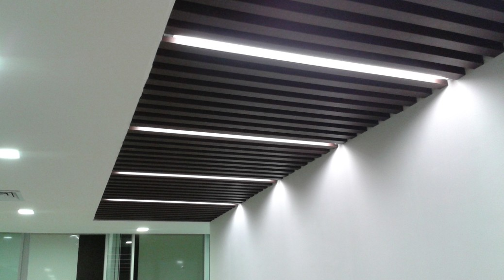Baffle Rafter Ceilings Cnc India